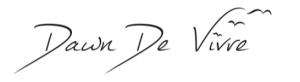 Dawn De Vivre signature
