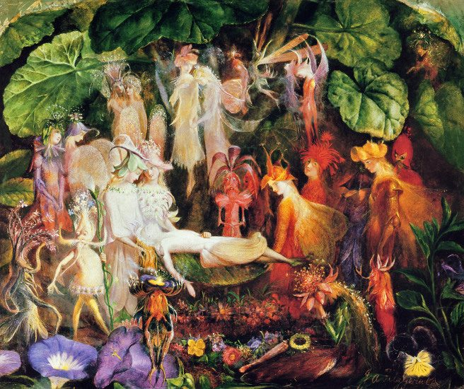 They Fairy's Funeral by John Anster