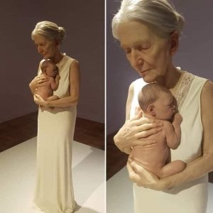Woman and Baby by Sam Jinks